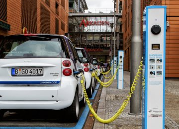 The IEA estimates that there will be 50 million electric vehicles on the road by 2025.