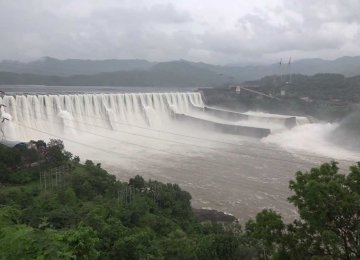 Indian Premier Inaugurates Controversial Dam Project