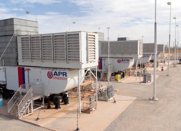 Mobile Power Plant Ready for Rapid Deployment