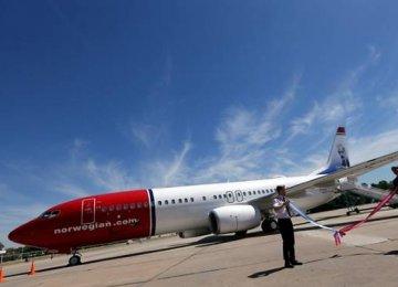 Norwegian Airline's Plane Stuck in Iran Awaiting Parts
