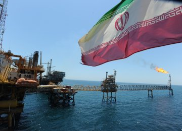 Iran has drawn close to 7.8 billion barrels of oil from its Persian Gulf reservoirs.