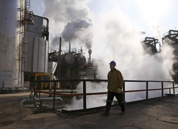 Iran's in-place oil reserves are estimated at 800 billion barrels.