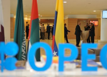 OPEC Output Falls From Record High