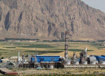 Int'l Company to Help Upgrade Kermanshah Petrochem Complex