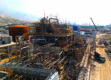 Takht-e-Jamshid Pars PetrochemicalPlant in Asalouyeh.