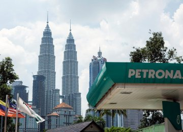 Petronas Predicts  $50-60 Crude