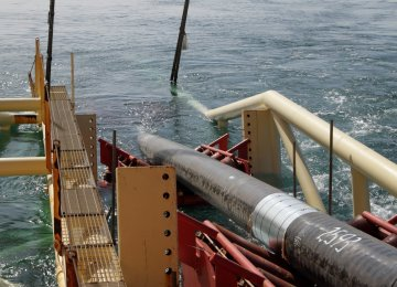 SP Phase 13 Offshore Pipe-Laying Underway