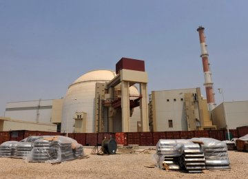 Bushehr Nuclear Plant Output Hits  25 Billion kWh