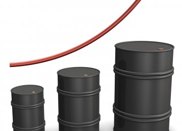Oil at One-Month High