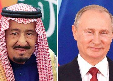 Russia, S. Arabia Earn $40b Each From Crude Cuts
