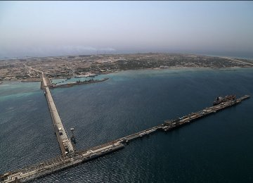 Kharg terminal's oil loading capacity has now increased to 7 million barrels per day.