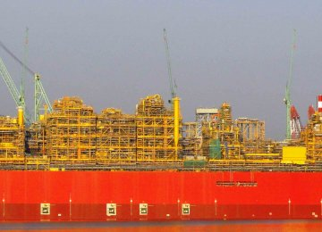 Shell Supplies Gas to Australia's FLNG Unit