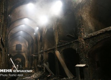Tabriz Bazaar Fire Damage Estimated at $1.2m
