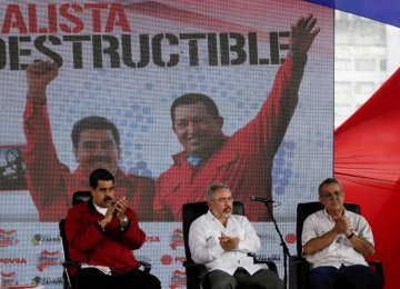 Venezuela Arrests Former Oil Bosses in Corruption Purge