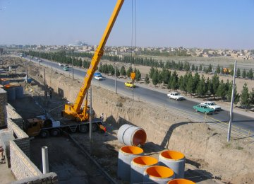 Expanding Tehran's water supply network is facing operational hurdles.