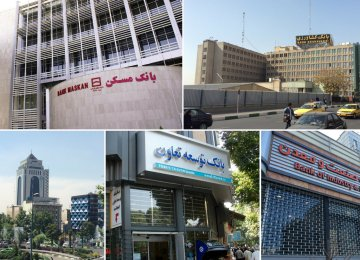 The total volume of six state-run specialized banks' debts to the Central Bank Iran by the end of the last Iranian year (March 20, 2017)  reached 494.4 trillion rials ($13.2 billion).