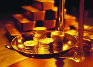 Gold Coin at 4-Year High