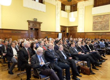 Representatives of the chambers of commerce of Tehran and Vienna attended a joint event in Austria's capital Vienna.