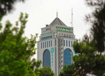 EDBI Post-Sanctions Correspondent Ties Hit 120