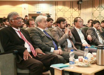 The event was attended by senior foreign Islamic banking experts.