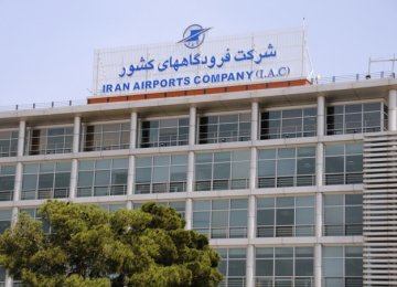 Iran Airports Company's annual budget stands at 13 trillion rials ($325 million).