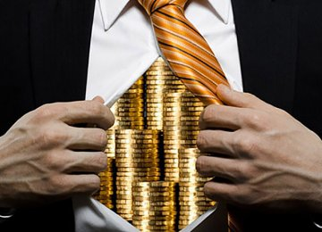 """Astronomical"" Salaries Deposited in Treasury"