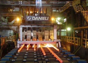 ESCO Crude Steel Output Tops 500K Tons