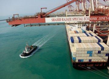 Hormozgan Handles 36% of Iran's Goods Transit