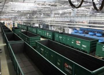 Russian Company to Supply 6,000 Freight Wagons to Iran