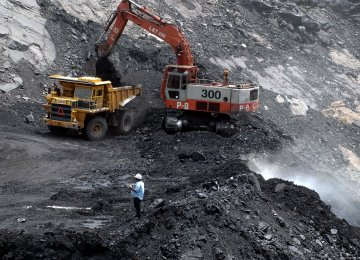 Coal Concentrate Output Tops 510K