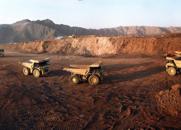 Iran is the world's 15th mineral-rich country, holding more than 7% of global mineral reserves worth over $700 billion.