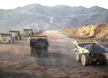 All Iranian iron ore mines, except one, posted a double-digit growth in production.