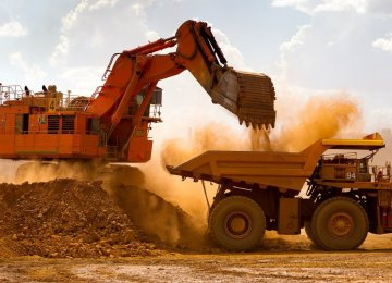 Mineral Output Up 8.7%