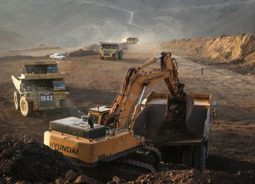 """Known as """"Iran's Mineral Heaven"""", Sangan Mineral Zone is home to over 1.2 billion tons of estimated iron ore reserves, which are expected to be much more. (Photo: Mehr News Agency)"""