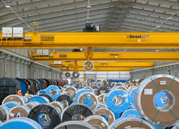 Iran aims to export between 20 and 25 million tons of steel annually by 2025.