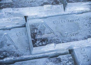 IZMDC Zinc Output at  8,478 tons