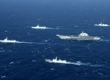 China Ramping Up Naval Abilities