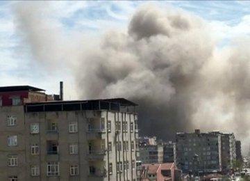 Blast Rocks Turkey's Diyarbakir