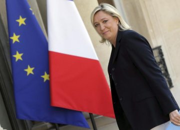 EU Parliament Seeks Repayment by Le Pen