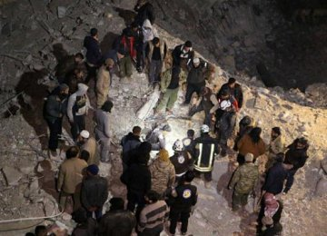 US Airstrike Hits Syrian Mosque
