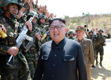 North Korea Warns of Nuclear Test 'at Any time'