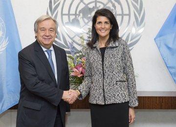 US Envoy at UN: We're Taking Names