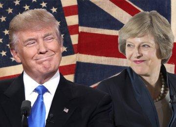 Trump Looking Forward to Meet May