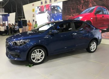 SAIPA recently unveiled a new upmarket model named Roham.