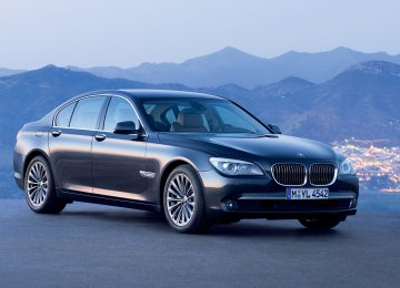New BMW 7 Series Cleared for Registration