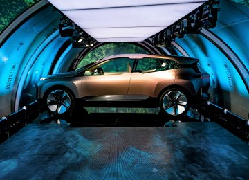 BMW's Tech-Stuffed Concept SUV Heralds Fancy, Electric Future