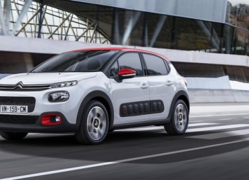 C3 First Joint Product of SAIPA, Citroen
