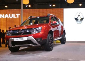 the Iran-produced Duster may be an obsolete version when it rolls of the future production line.
