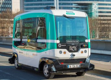 EasyMile SAS has produced the first driverless bus in Taiwan.