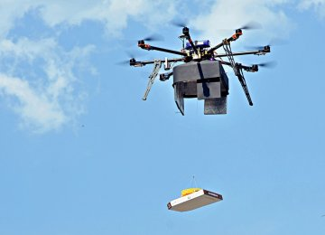 Drones in China to Carry 1 Ton Packages